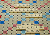 write your message on a scrabble board