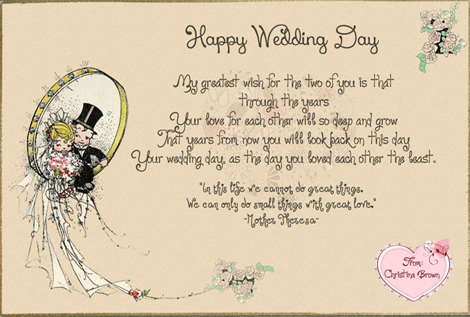 Wedding Greetings Card – Wedding Greeting Cards Quotes