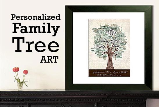 family tree art 1 pic. Black Bedroom Furniture Sets. Home Design Ideas
