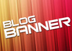 create a banner for your blog