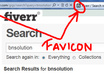 create a favicon from your Logo for your website