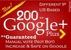 get you 200 google +1 PLUS one votes to seo rock up your high rank on big G