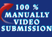 upload your most favorite videos on 35 high ranking sharing sites with my manually submission service