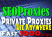 give you FIVE Private Proxies on my Fast 1000mbps Connection Servers