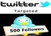 add 500+ Real Targeted Quality Twitter Followers within 2 hours without password