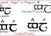 write your name or phrase in Elvish Tengwar script