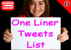 give You A List of 2800 Premade Precompiled One Liner TWEETS List For Your Automated Twitter Marketing Campaigns small1