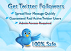 add more than 5,000+ REAL twitter followers to your twitter without needing your password in just 8hours