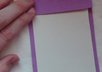 make and ship 2 personalized open-faced notepads