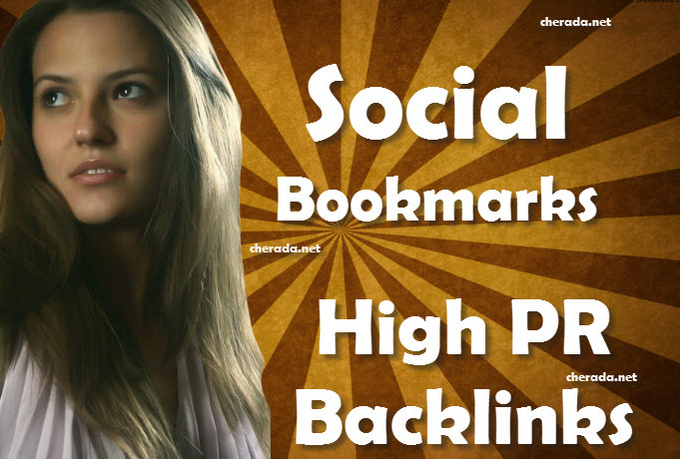 create 10 Backlinks in High PR3 to PR9 Social Bookmarking Sites