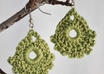 make these fun crochet earrings for you