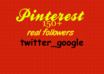 fastly add 150+ Pinterest followers to your account without admin access