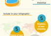create a simple yet fun custom designed infographic