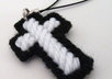 send a handcrafted cross cellphone charm to your US address